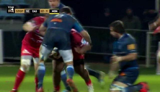 VIDEO. Top 14 - Rodrigo Capo Ortega s'écroule après un KO impressionnant