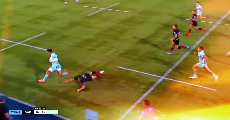 Ce cad-deb brillant de Louis Rees-Zammit va vous faire aimer le rugby anglais [VIDÉO]
