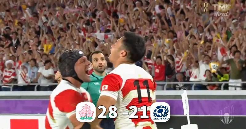 Ce match de dingue ! Le Japon en quart de finale, l'Écosse éliminée !