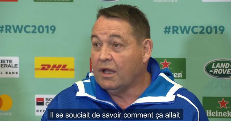 Ce moment valeur entre Anglais et Néo-Zélandais nous rappelle que le rugby est juste un jeu [VIDÉO]