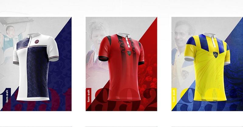 SUPERBES : ces maillots néo-rétros imaginés par un graphiste vont vous faire chavirer [PHOTOS]
