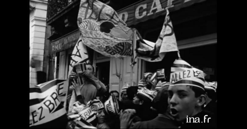 Dans la peau d'un supporter dans les années 60 grâce à cette vidéo d'époque [VIDEO]