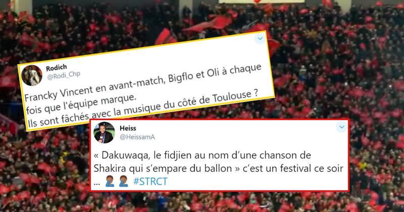 C'est souvent n'importe quoi mais on aime : le meilleur des réseaux sociaux pour Toulouse - Toulon !