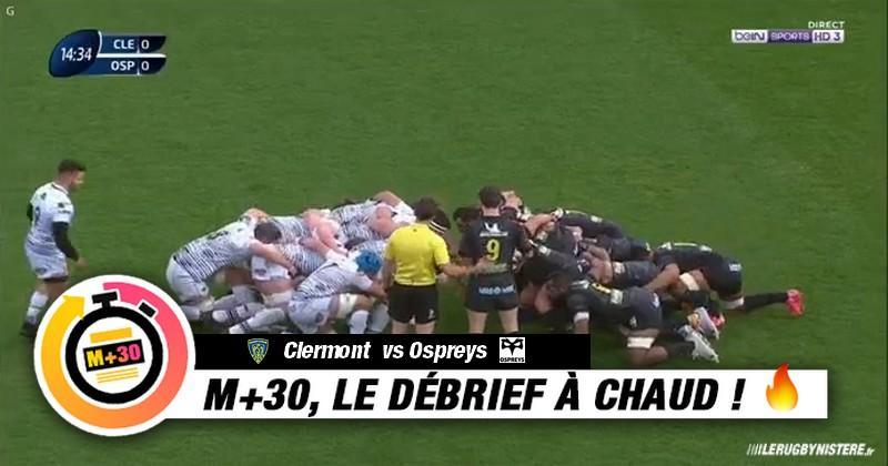 Champions Cup - 6e journée. ASM vs Ospreys. Le M+30 du Rugbynistère