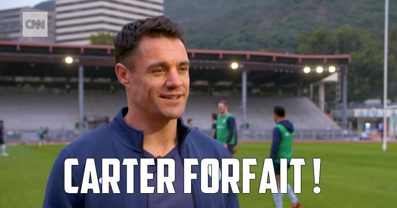 Champions Cup - Le Racing 92 privé de Dan Carter pour la finale contre le Leinster