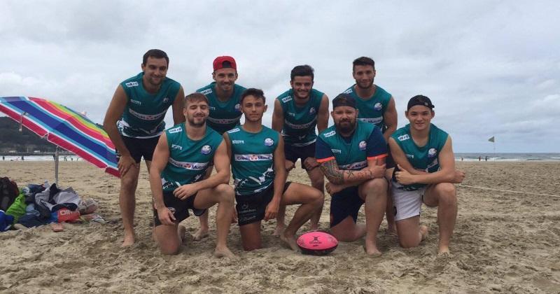 Beach Rugby : les Chicken's Rôti 7s sont déjà prêts pour lancer la saison 2018 !