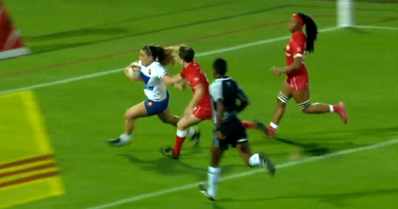Dubaï 7s. Chloé Pelle et les Bleues cèdent leur première place mais verront la Cup