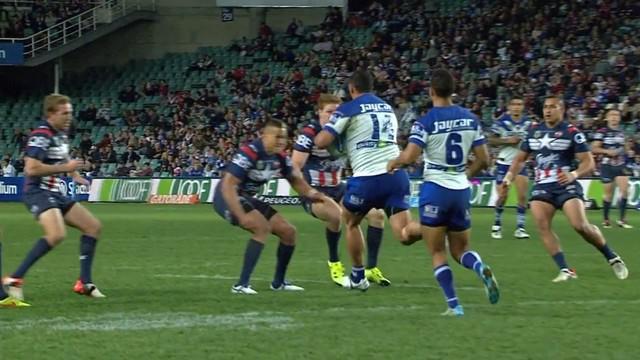 VIDEO. Rugby à XIII. Choc des titans entre Kane Evans et Sam Kasiano en NRL