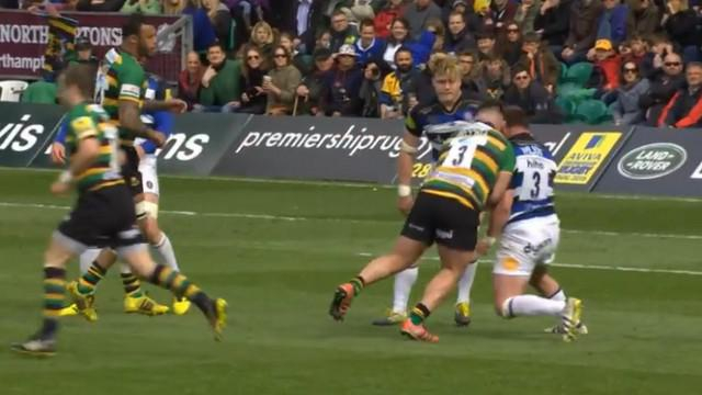 VIDEO. Premiership. Quand 250 kilos de pilier droit entrent en collision