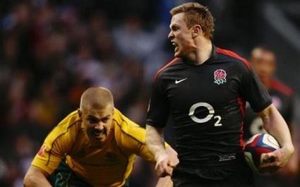 Chris Ashton met à terre l'Australie sur un essai de 95m