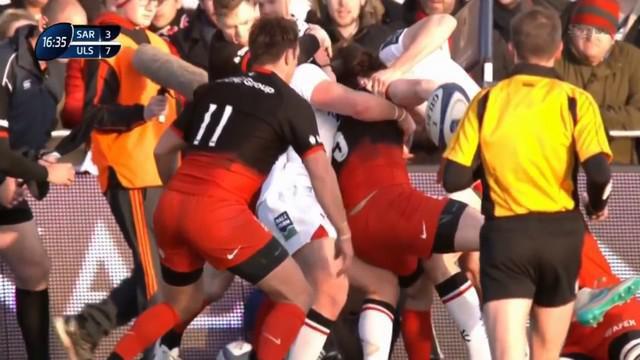 VIDEO. Angleterre - Chris Ashton privé de Tournoi des 6 Nations pour un acte de jeu déloyal
