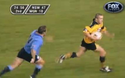 VIDEO. Top 5 des plus beaux essais de 100 m de l'histoire du rugby