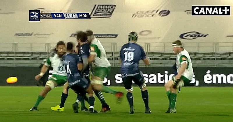 Cinq fractures au visage pour Pierre Pagès après une violente prise en sandwich [VIDEO]