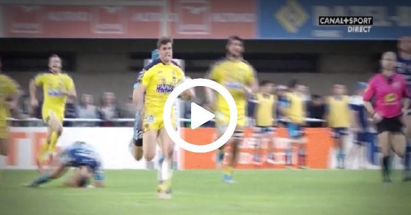 Damian Penaud sort les cannes et inscrit un essai de 100 mètres face à Montpellier [VIDÉO]