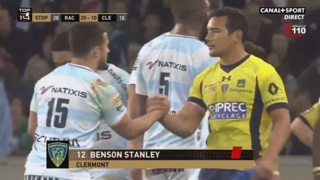 VIDEO. Top 14 - Clermont : le carton rouge de Benson Stanley face au Racing 92 était-il justifié ?