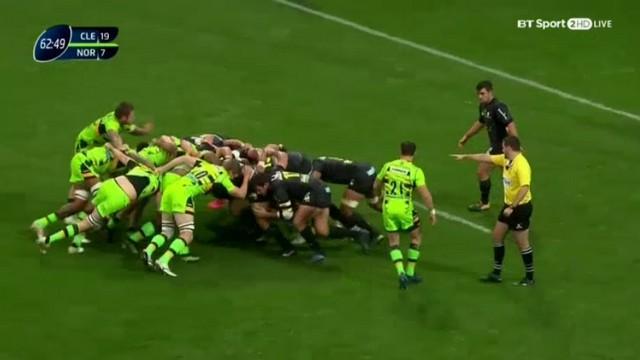VIDEO. Champions Cup - Clermont met Northampton au supplice en mêlée