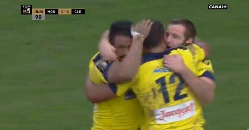 Clermont se fait un peu peur mais s'impose en leader à Montpellier