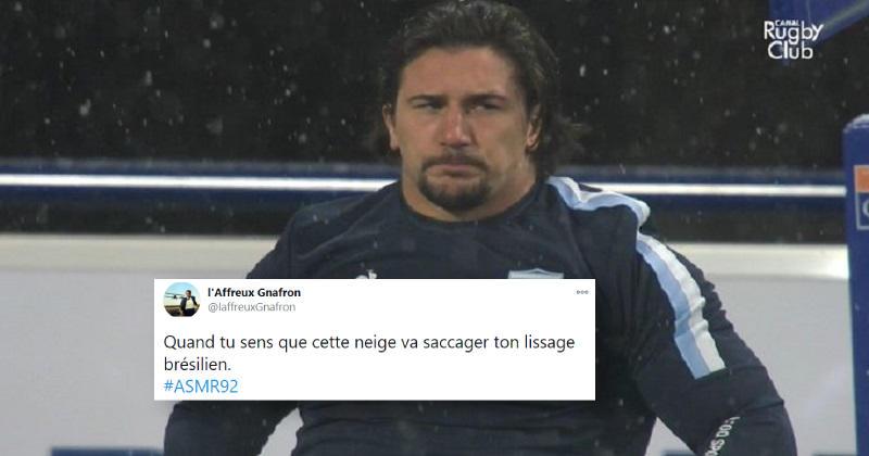 Clermontada, lissage brésilien et Raynal : Twitter se réchauffe devant Clermont vs Racing 92