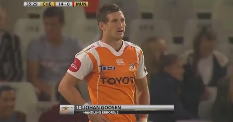 VIDEO. Pro 14 - Cheetahs. Comment s'est passé le retour à la compétition de Johan Goosen ?