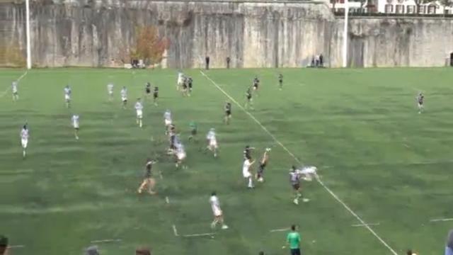 VIDEO. Compilation Rugby Amateur. L'envol spectaculaire d'un Espoir, la percussion d'un ancien et le contre de 60m de Strasbourg