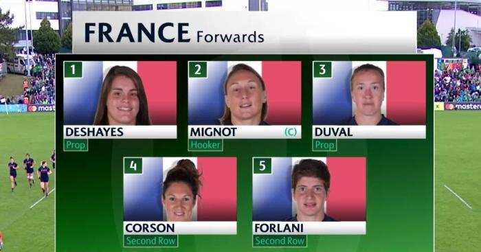 Les centres béarnaises titulaires pour la demie contre l'Angleterre — Coupe du monde/rugby