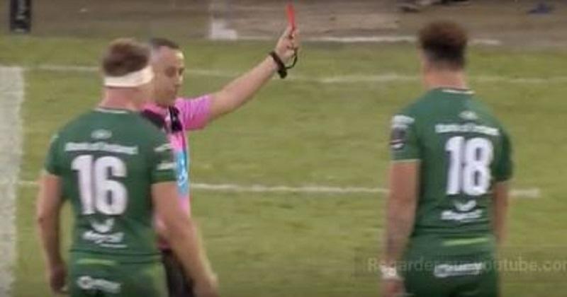 VIDEO. Pro 14.  Le coup de sang d'un joueur du Connacht qui marche sur la tête d'un adversaire