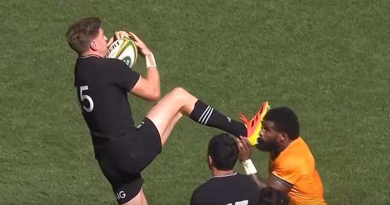 Rugby Championship. Contre toute attente, le carton rouge de Jordy Barrett est annulé !