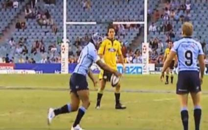 VIDEO. Top 5 des rugbymen qui n'auraient pas du jouer au pied