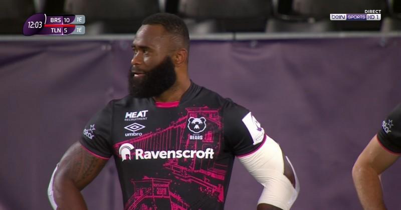 Les Bristol Bears vont toucher deux mots à World Rugby sur le cas Semi Radradra