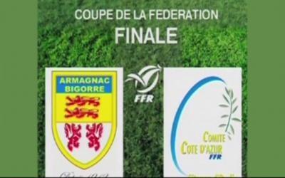 Coupe de la Fédération : l'Armagnac-Bigorre l'emporte contre la Côte d'Azur