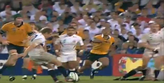 Jonny Wilkinson : 'La victoire en Coupe du monde a été un fardeau'