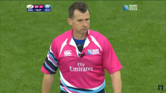 Coupe du monde 2015 nigel owens sera l 39 arbitre de la finale - Arbitre finale coupe du monde rugby 2011 ...