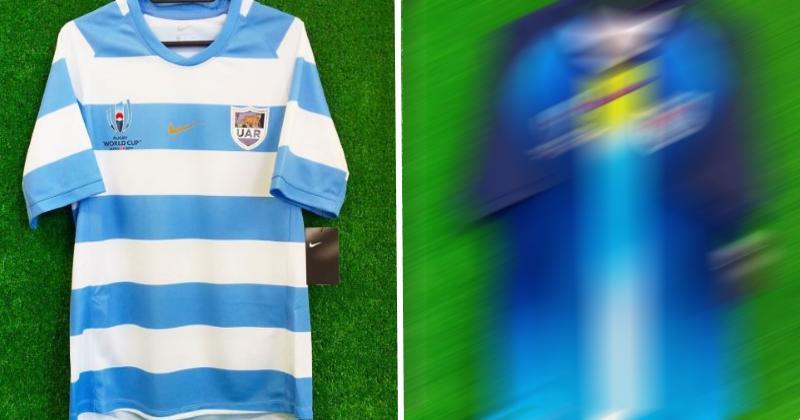 COUPE DU MONDE 2019 : les maillots des All Blacks, de l'Angleterre et de l'Argentine ont-ils fuité ?