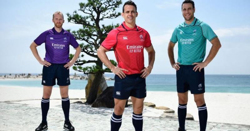 Coupe du monde 2019 : les trois nouveaux maillots des arbitres révélées ! [PHOTO]