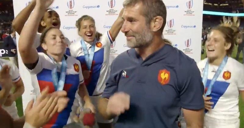 VIDÉO. Coupe du monde à 7 : David Courteix meilleur entraîneur, Anne-Cécile Ciofani à l'honneur
