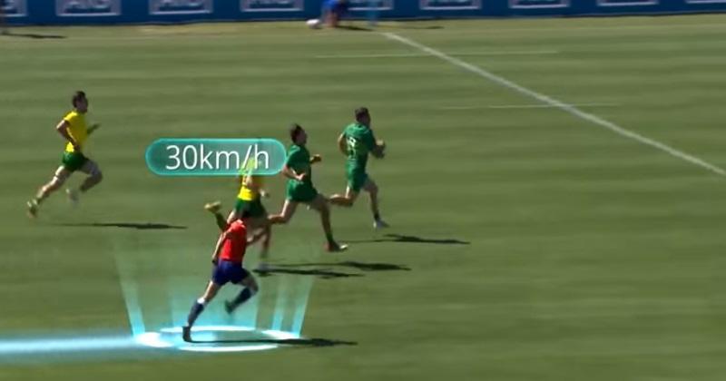 VIDÉO. Coupe du monde à 7 : l'accélération fulgurante de l'arbitre tricolore Jérémy Rozier