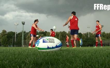 VIDEO. Au plus près des Français avant la Coupe du monde de rugby à 7
