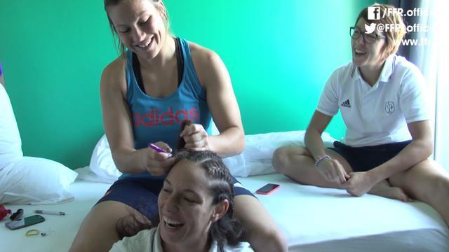 VIDEO. Coupe du monde de rugby féminin. Dans les coulisses de l'équipe de France féminine