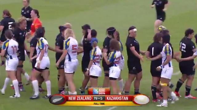 VIDEO. Coupe du monde rugby féminin. La Nouvelle-Zélande et l'Angleterre sans pitié, l'Australie et l'Irlande assurent