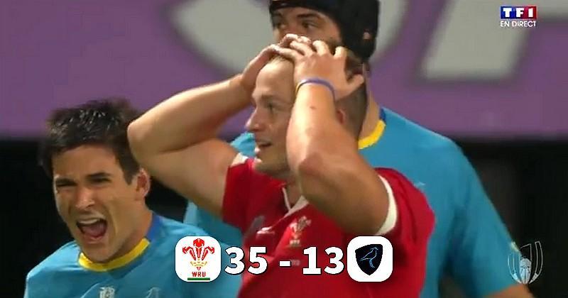 Coupe du monde - Des Gallois petit bras dominent de vaillants Teros avant d'affronter les Bleus
