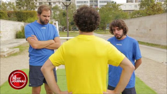 VIDEO. Insolite - Coupe du monde : Le Petit Journal parodie les commentaires du duo Jeanpierre / Laporte