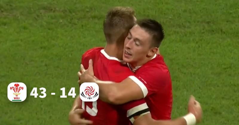 Coupe du monde : la Géorgie se réveille trop tard face à un Pays de Galles plein de maîtrise !