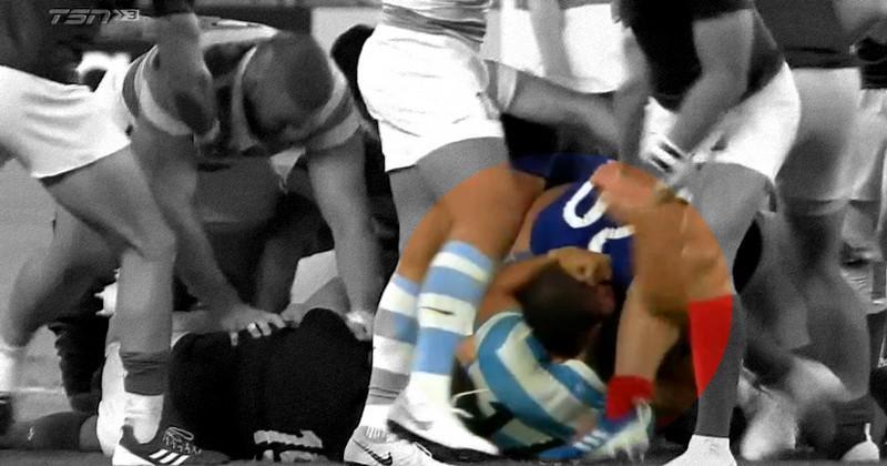 Coupe du monde - L'Argentin Matías Moroni averti après le match contre la France