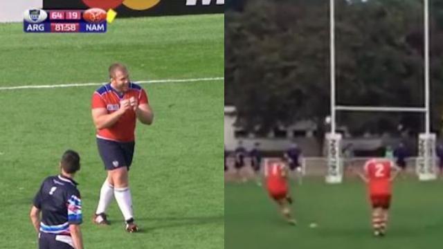 VIDEO. Insolite - Coupe du monde : Duel de piliers buteurs dans le JT du Rugbynistère