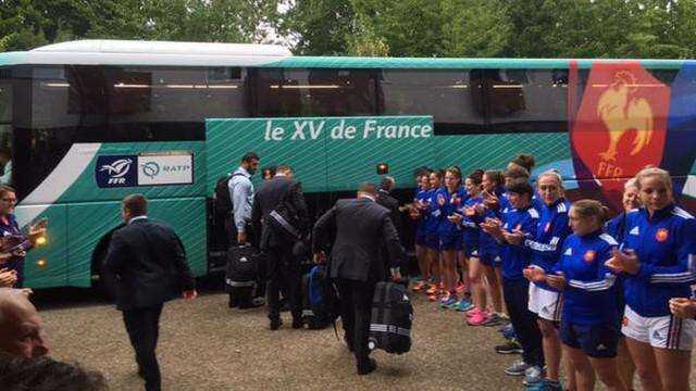 VIDEO. Coupe du monde. Le XV de France est parti à l'assaut de l'Angleterre