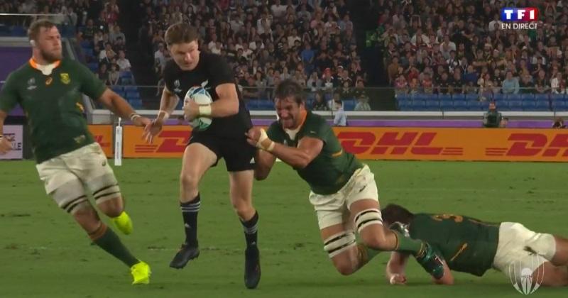 Coupe du monde : les All Blacks donnent une leçon de réalisme aux Springboks malgré un grand Kolbe !
