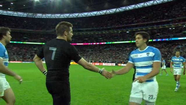 RESUME VIDEO. Coupe du monde : bousculée, la Nouvelle-Zélande fait craquer l'Argentine (26-16)