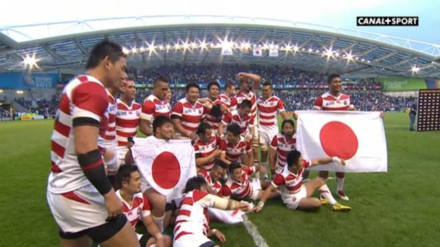 RESUME VIDEO. Coupe du monde : l'exploit retentissant du Japon face à l'Afrique du Sud (34-32)