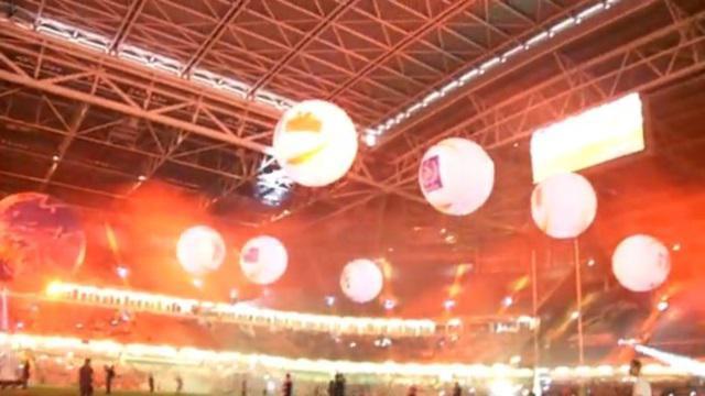 VIDEO. Les images de la cérémonie d'ouverture de la Coupe du monde de Rugby à XIII