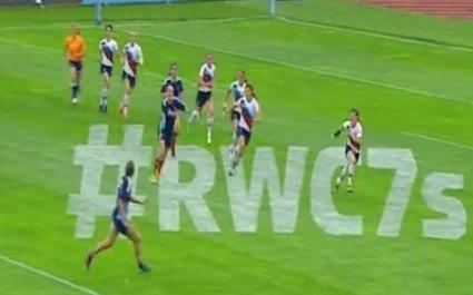 VIDEO. Coupe du monde - Seven : Les essais de l'équipe de France féminine de Rugby à 7